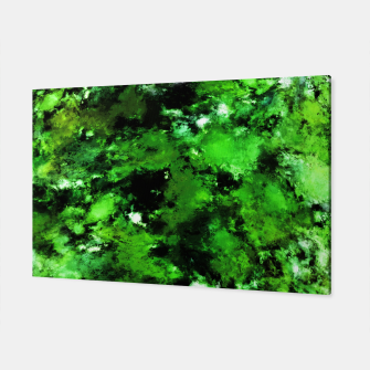 Thumbnail image of Green deflected Canvas, Live Heroes