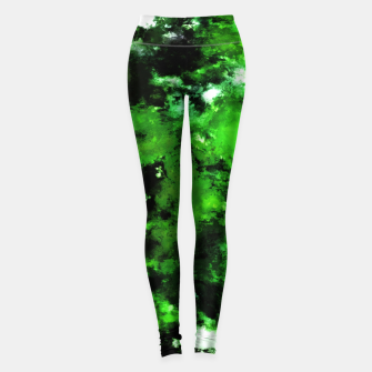 Thumbnail image of Green deflected Leggings, Live Heroes