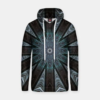 Miniatur Feather cross mandala Hoodie, Live Heroes