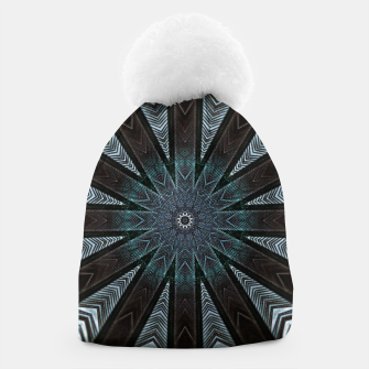 Miniatur Feather cross mandala Beanie, Live Heroes