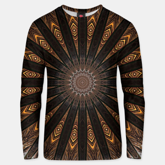 Miniatur Feather mandala Unisex sweater, Live Heroes