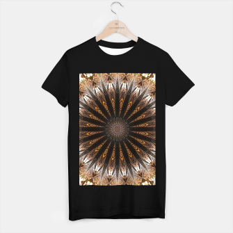 Miniatur Feather mandala T-shirt regular, Live Heroes