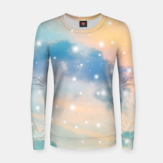 Thumbnail image of Pastel Cosmos Dream #3 #decor #art  Frauen sweatshirt, Live Heroes