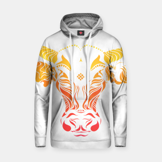Thumbnail image of Angry cattle in the wind by #Bizzartino Hoodie, Live Heroes
