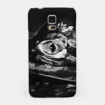 Thumbnail image of alligator baby eye vabw Samsung Case, Live Heroes