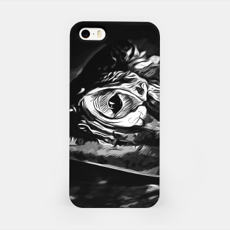 Thumbnail image of alligator baby eye vabw iPhone Case, Live Heroes