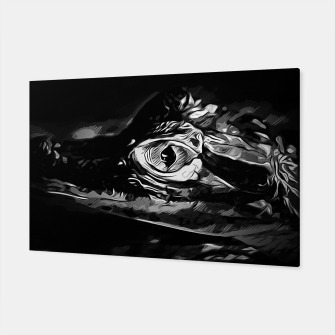 Thumbnail image of alligator baby eye vabw Canvas, Live Heroes