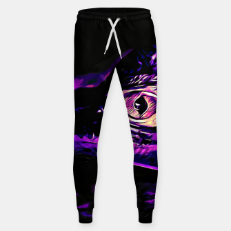 Thumbnail image of alligator baby eye vals Sweatpants, Live Heroes