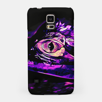 Thumbnail image of alligator baby eye vals Samsung Case, Live Heroes