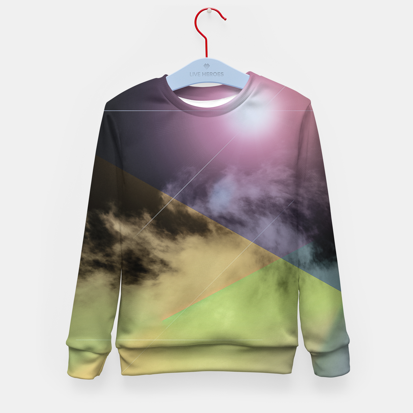 Image of colourful fog for kids - Live Heroes