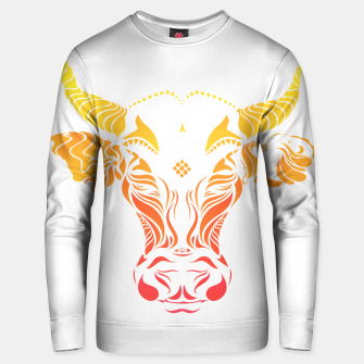 Thumbnail image of Angry cattle in the wind by #Bizzartino Unisex sweater, Live Heroes