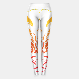 Thumbnail image of Angry cattle in the wind by #Bizzartino Leggings, Live Heroes