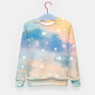 Thumbnail image of Pastel Cosmos Dream #3 #decor #art  Kindersweatshirt, Live Heroes