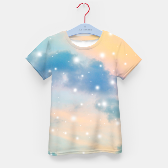 Thumbnail image of Pastel Cosmos Dream #3 #decor #art  T-Shirt für kinder, Live Heroes
