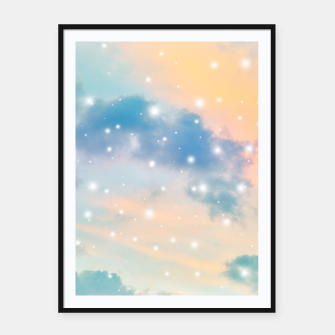 Thumbnail image of Pastel Cosmos Dream #3 #decor #art  Plakat mit rahmen, Live Heroes