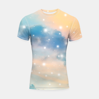 Thumbnail image of Pastel Cosmos Dream #3 #decor #art  Shortsleeve rashguard, Live Heroes