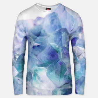 Thumbnail image of Iridescent Quartz Crystal #1 #gem #decor #art  Unisex sweatshirt, Live Heroes