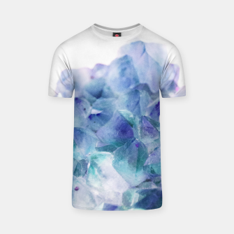 Thumbnail image of Iridescent Quartz Crystal #1 #gem #decor #art  T-Shirt, Live Heroes