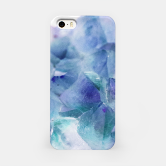 Thumbnail image of Iridescent Quartz Crystal #1 #gem #decor #art  iPhone-Hülle, Live Heroes
