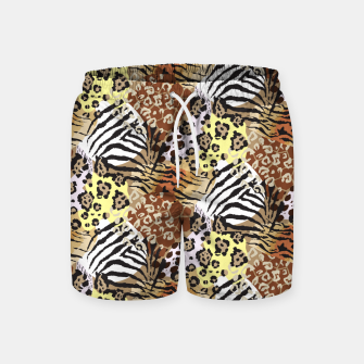 Miniatur Animal Skins Swim Shorts, Live Heroes