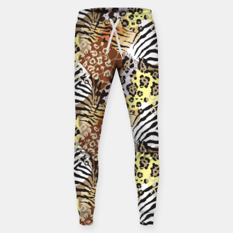 Miniatur Animal Skins Sweatpants, Live Heroes