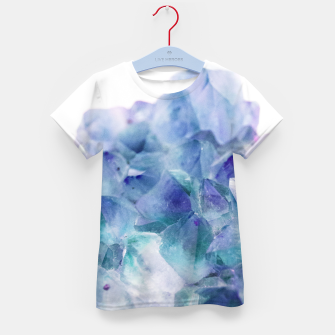 Thumbnail image of Iridescent Quartz Crystal #1 #gem #decor #art  T-Shirt für kinder, Live Heroes