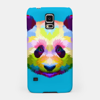 Thumbnail image of Colorful Panda Head Samsung Case, Live Heroes