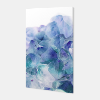 Thumbnail image of Iridescent Quartz Crystal #1 #gem #decor #art  Canvas, Live Heroes