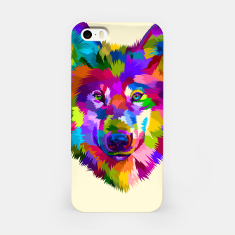 Thumbnail image of Colorful Wolf Head iPhone Case, Live Heroes