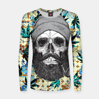 Thumbnail image of Hemp Zombie Women sweater, Live Heroes