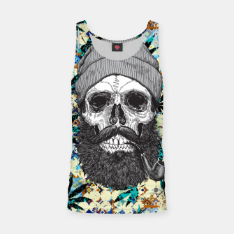 Thumbnail image of Hemp Zombie Tank Top, Live Heroes