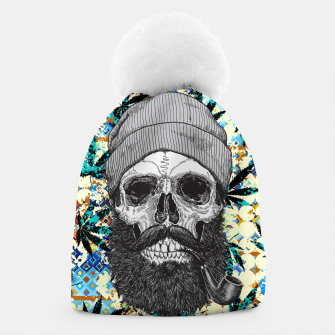 Thumbnail image of Hemp Zombie Beanie, Live Heroes