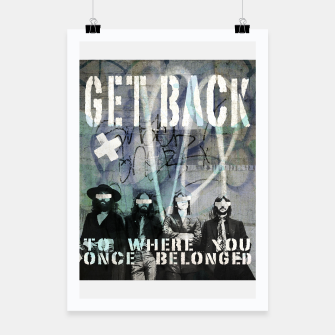 Thumbnail image of Get Back Poster, Live Heroes