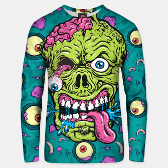 Thumbnail image of Creative Zombie Unisex sweater, Live Heroes