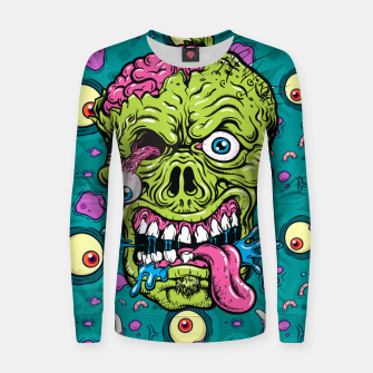Thumbnail image of Creative Zombie Women sweater, Live Heroes