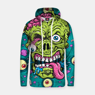 Thumbnail image of Creative Zombie Hoodie, Live Heroes