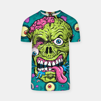 Thumbnail image of Creative Zombie T-shirt, Live Heroes