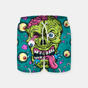Thumbnail image of Creative Zombie Swim Shorts, Live Heroes