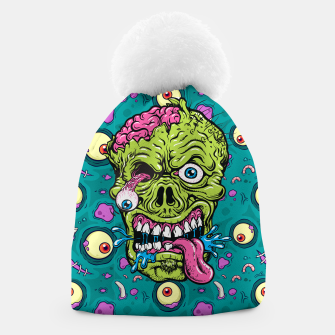 Thumbnail image of Creative Zombie Beanie, Live Heroes