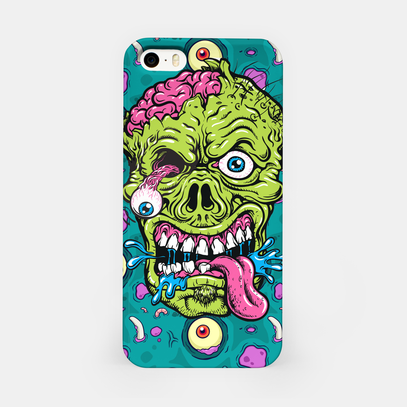 Image of Creative Zombie iPhone Case - Live Heroes