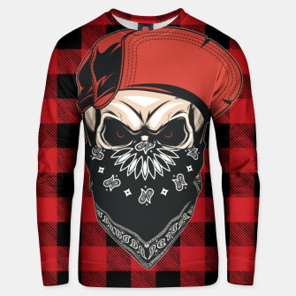 Thumbnail image of Caped Skull Unisex sweater, Live Heroes
