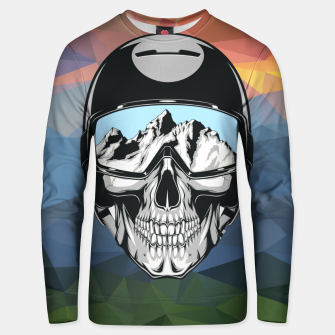 Thumbnail image of Mountain Skull Unisex sweater, Live Heroes