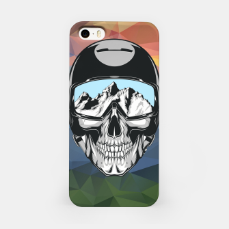 Thumbnail image of Mountain Skull iPhone Case, Live Heroes