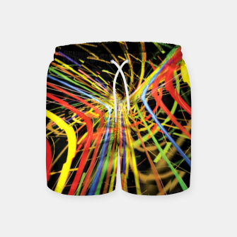 "Miniaturka Rainbow Road ""Ball Burst"" Swim Shorts, Live Heroes"