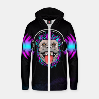 Thumbnail image of Mega Bass 5000 Zip up hoodie, Live Heroes