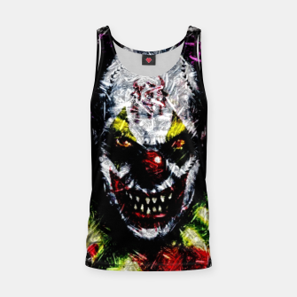Thumbnail image of Bullets Clown Tank Top, Live Heroes