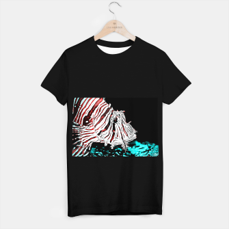 Miniature de image de poisonous exotic lionfish va2s T-shirt regular, Live Heroes