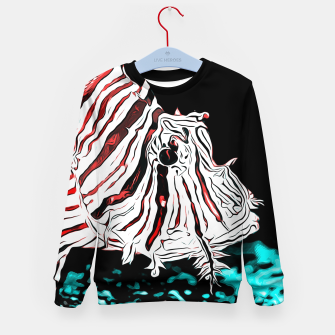 Miniature de image de poisonous exotic lionfish va2s Kid's sweater, Live Heroes