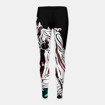 Miniature de image de poisonous exotic lionfish va2s Girl's leggings, Live Heroes
