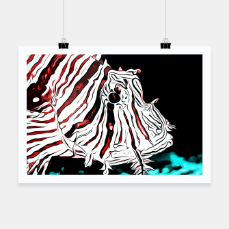Thumbnail image of poisonous exotic lionfish va2s Poster, Live Heroes